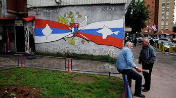 A koszovói szerbek bezárták az összes boltot Észak-Koszovóban