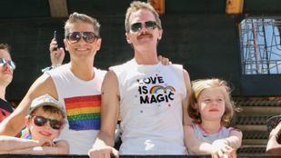 Neil Patrick Harris a gyerekeivel, Marc Jacobs fejkendőben tolta a WorldPride-ot