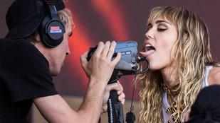 Miley Cyrus újra kiakasztotta a rajongóit obszcén viselkedésével