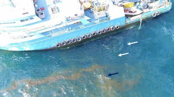 Naponta 17 ezer liter olaj ömölhet a tengerbe a Mexikói-öbölnél
