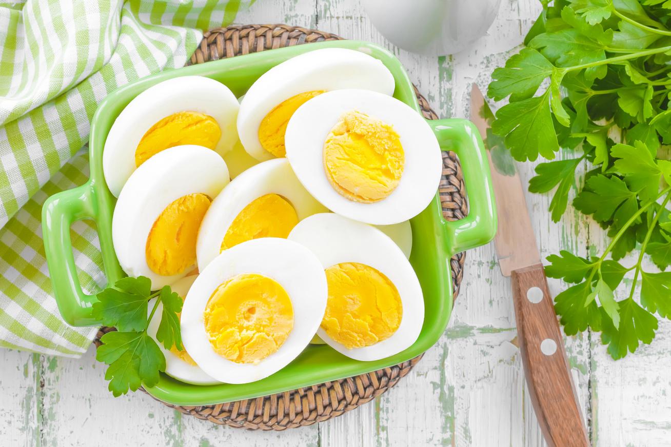 főtt tojás, tojásdiéta fehérje