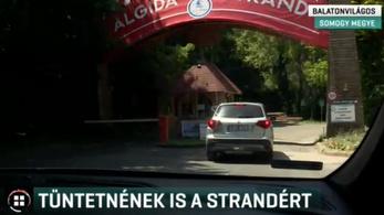 Engedély nélküli sorompó akadályozta a strandra jutást a Club Aligánál