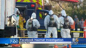 Vegyi fegyvernek minősülő idegmérget találhattak a Facebook egyik irodájában