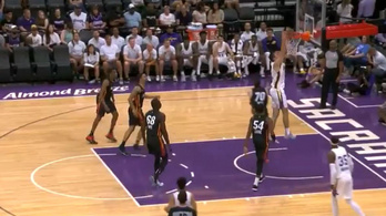 Parádésan kezdett a magyar válogatott kosaras az NBA-ben