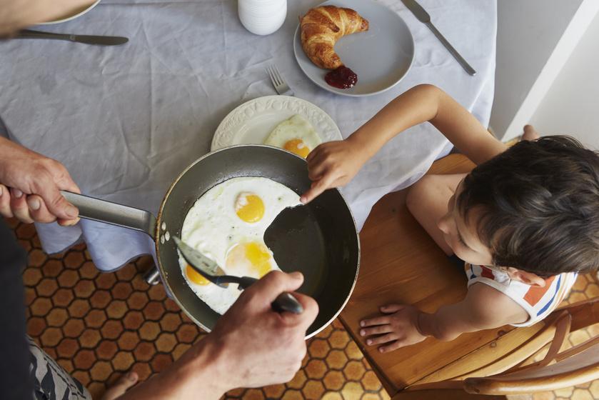 tojás reggeli fehérje