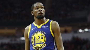 A Warriors visszavonultatja a 3 szezon után lelépő Durant mezét