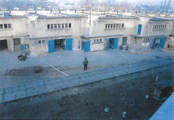 A gyilkossági kísérlet helyszíne 1996-ban