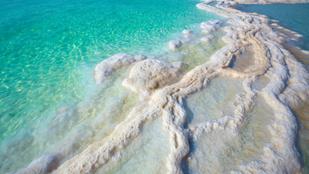 Kiderült a holt-tengeri sókristályok titka