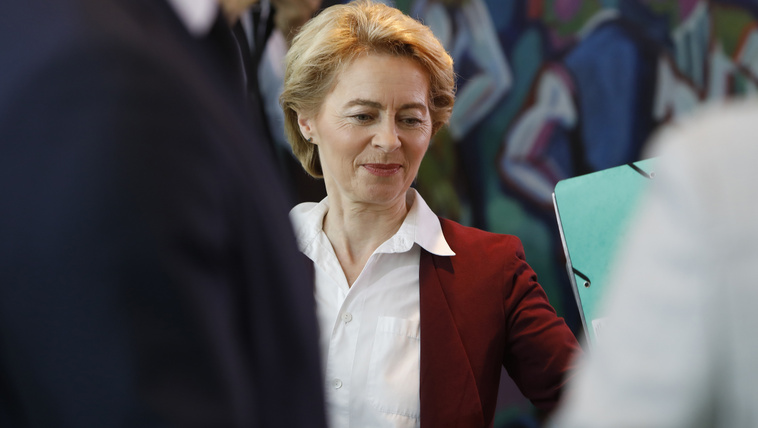 A német Ursula von der Leyent jelölik az Európai Bizottság élére