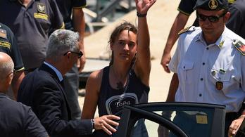 Az olasz bíróság szabadlábra helyezte a Sea-Watch 3 kapitányát