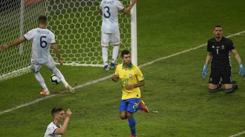 Élesebb volt, mint gondolnánk: brazil-argentin 2-0