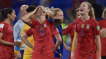 Női labdarúgó-vb: a címvédő amerikaiak a döntőben