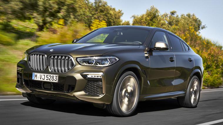 Megjött az új BMW X6