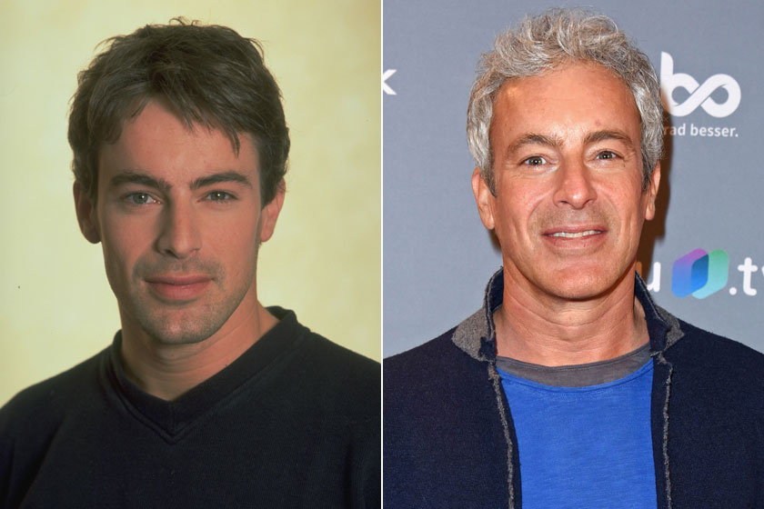 Gedeon Burkhard 2000-ben és 2019-ben.