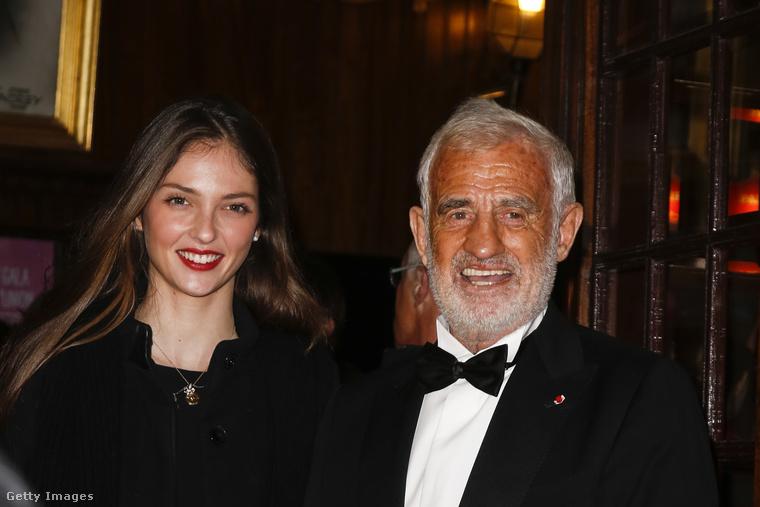 Ez a közös kép 2013-ban készült Jean-Paul Belmondóról és szintén színész, illetve modell-influenszer unokájáról.