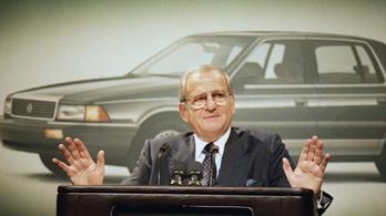 Elhunyt a Chrysler legendás megmentője