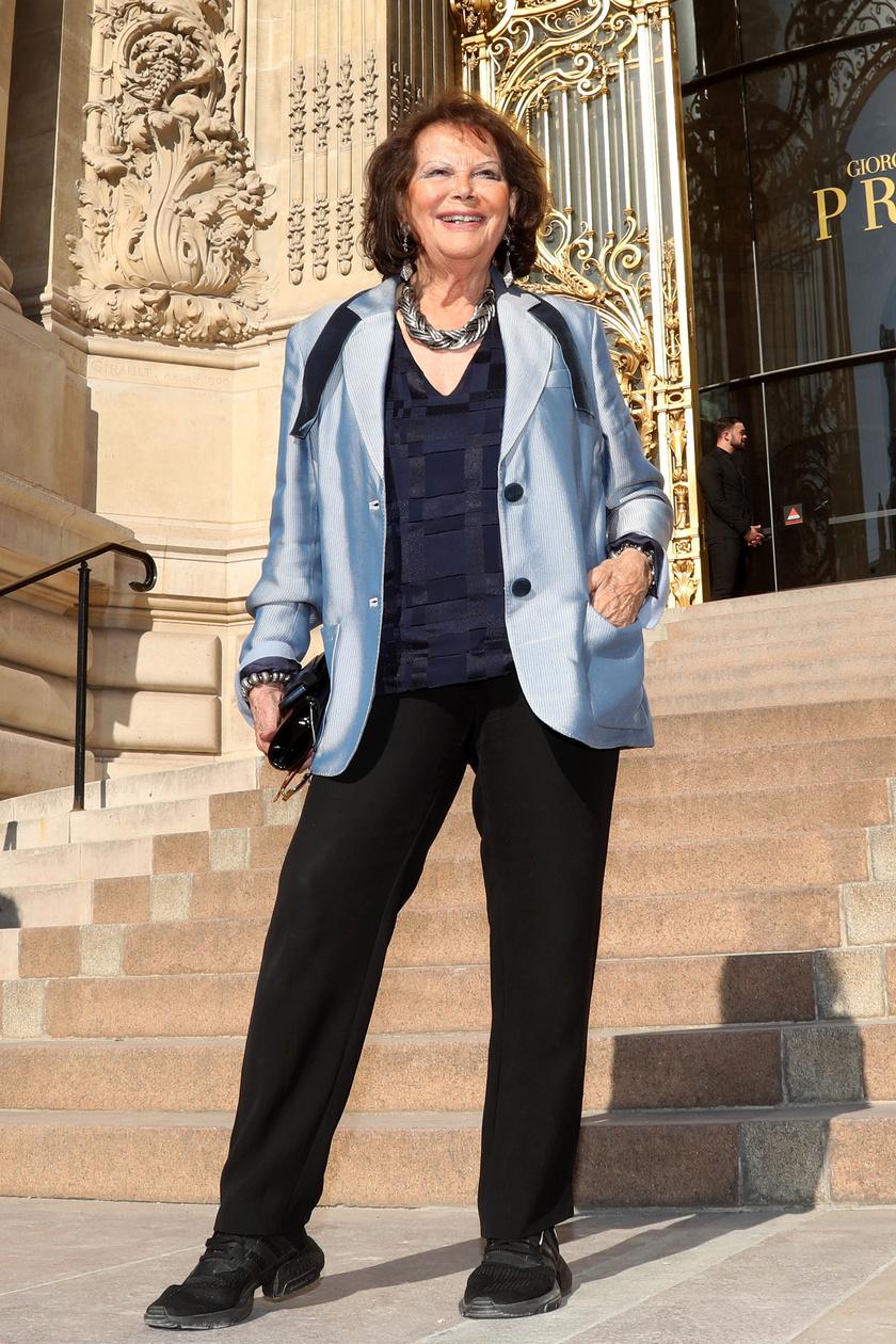 Claudia Cardinale még mindig nagyon csinos és bájos - jól tette, hogy nem feküdt kés alá.
