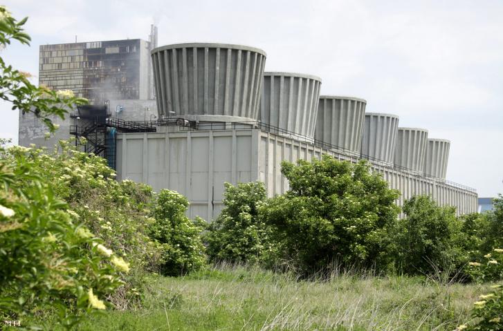 A Nitrogénművek Zrt. - korábban Péti Nitrogénművek - gyára a Veszprém megyei Pétfürdő határában.