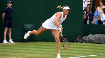 Babosék nehezen a 32 között Wimbledonban, Wawrinka kiesett
