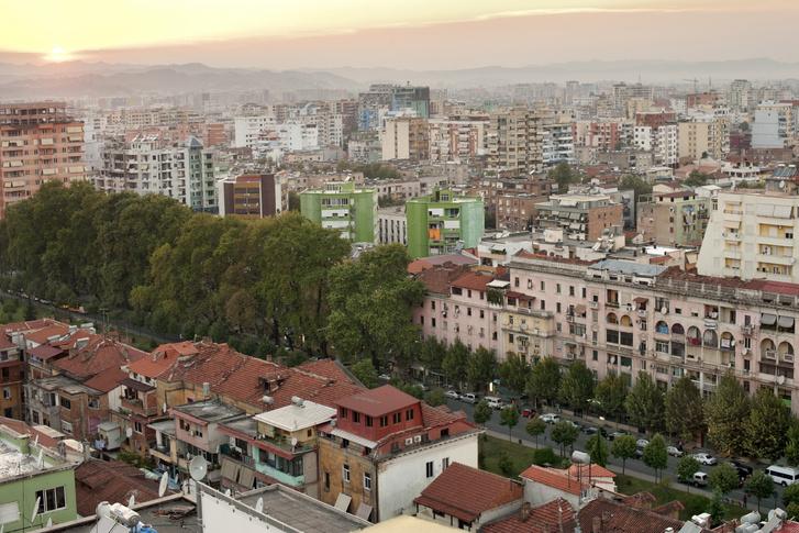 Tirana városképe