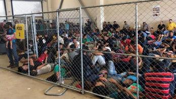 Ketyegő időzített bombává váltak a texasi menekültközpontok