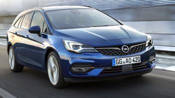 Peugeot motorokat kap az Opel Astra