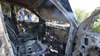 Négy autó lángolt Szombathelyen