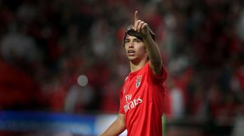 Hivatalos: João Félix 126 millió euróért megy az Atlético Madridba