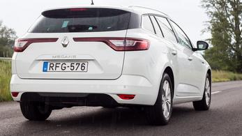 Megvolt: Renault Megane Grandtour Tce 115 - 2019.