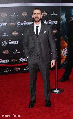 Amerika kapitány, Chris Evans