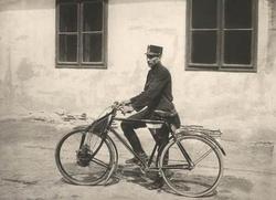 Austro-Motorette segédmotoros távirat-kézbesítő motorkerékpár