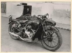 Postai gépjárművek, 1901-1929, Gecső-D-Rad típusú levélgyűjtő motorkerékpár