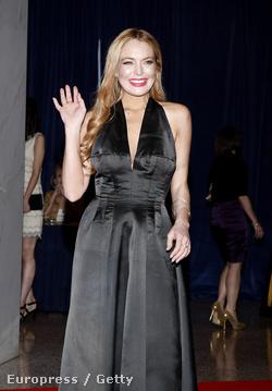 Lindsay Lohan a Fehér Házban