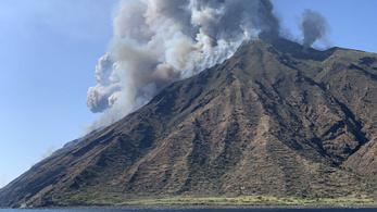 Kitört a Stromboli vulkán, egy ember meghalt