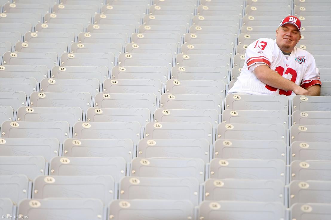 Lorenzen a New York Giants mezében