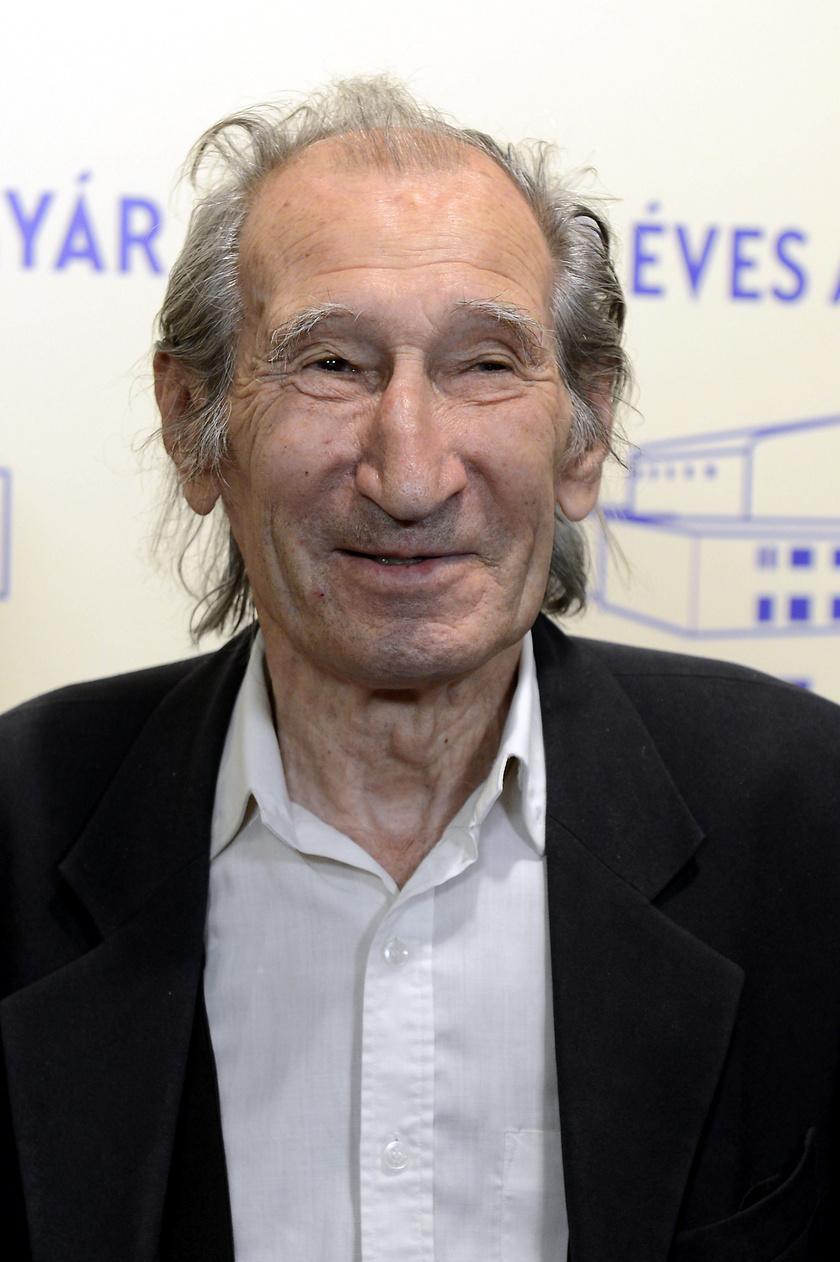 Szilágyi István a százéves Filmgyár jubileumi ünnepségén 2017-ben.
