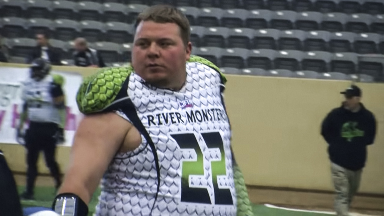 A Super Bowl-győztes, aki a megyeiben, 145 kilósan lett legenda