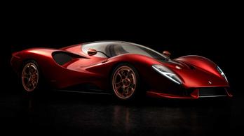 Stílusos sportkocsival tér vissza a De Tomaso