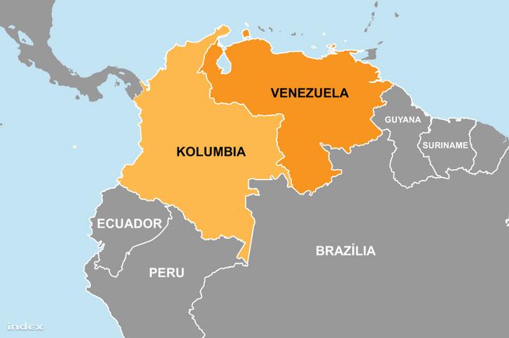 Kolumbia és Venezuela