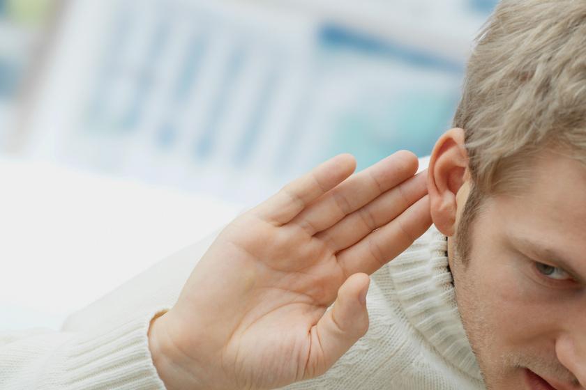 Több férfit érint a halláskárosodás problémája, mint nőt.