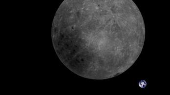 Így néz ki egy teljes napfogyatkozás a Hold túloldaláról