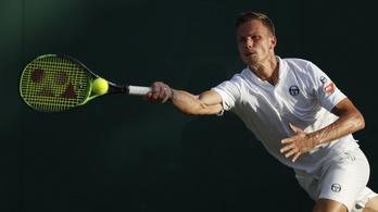 Fucsovics maratoni csatában esett ki Wimbledonban