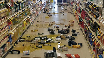 Erős földrengés volt Kalifornia déli részén