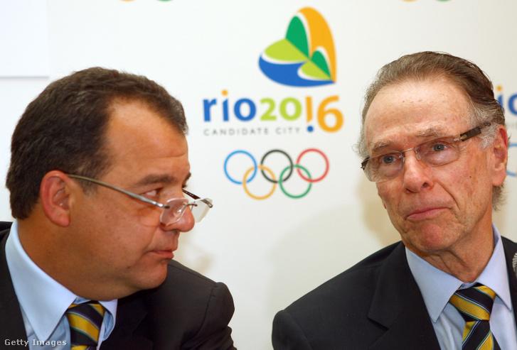 Sergio Cabral és Carlos Arthur Nuzman