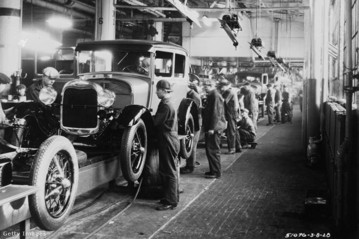 Ford gyár 1928-ban