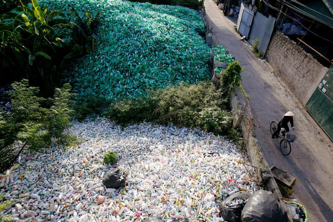 Műanyaghulladék Vietnámban
