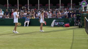 Forradalmi szervával nyert pontot Ostapenko Wimbledonban