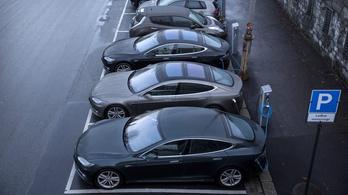 Minden negyedik eladott új autó Tesla Norvégiában
