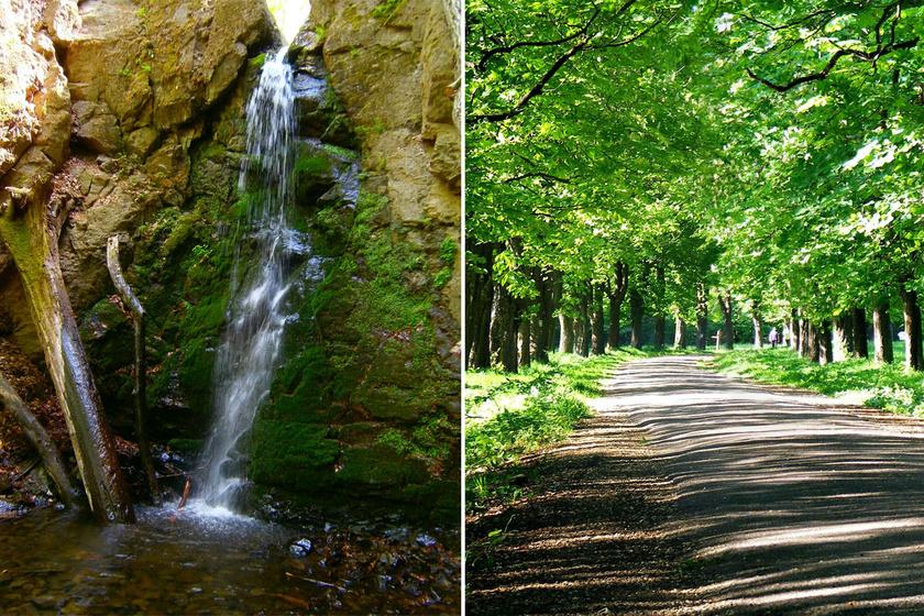 A Parád és Recsk felől megközelíthető Ilona-völgy legszebb részei kétségkívül tízméteres vízesése, valamint a tündérmesébe illő fasorok, melyek séta közben hűs árnyékot adnak.