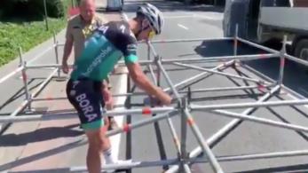 Sagan beállt a Tour de France pályaépítői közé